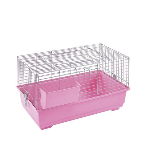 hutch accessories friends new rabbit guinea pig indoor cage pink