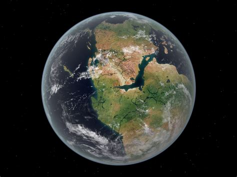 Earth Before The Continents Separated - The Earth Images ...