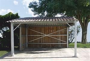 Hangar Metallique En Kit D Occasion : abris de jardin m tal carports abris agricole metallique ~ Nature-et-papiers.com Idées de Décoration