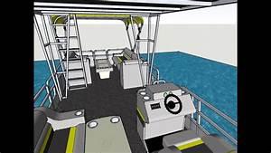1988 28 U0026 39  Sea Nymph Pontoon Boat