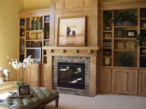 Living Room With Fireplace And Bookshelves by Built In Bookshelves Around Fireplace Fireplace Living