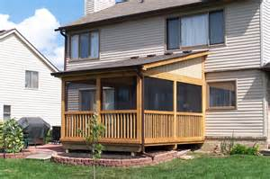 Deck with Screened Enclosure