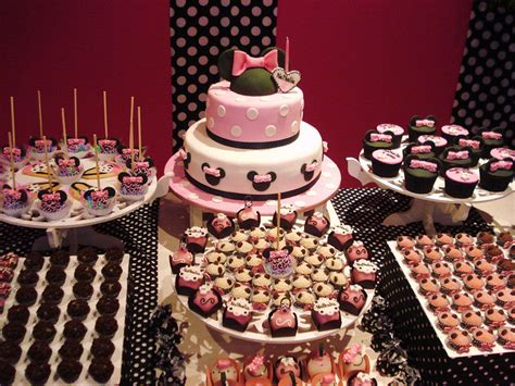 We collected over 50 original wishes for birthday, to help you with filling in your birthday card. Pink Minnie Mouse Themed Birthday Party Dessert Table - Disney Every Day