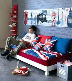 d 233 co chambre ado style londres kit stickers drapeau