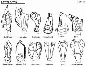 Robot Parts  Lower Arms By Xxlsalimuslxx On Deviantart
