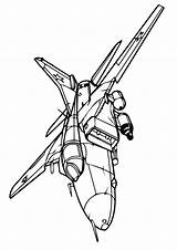 Fighter Aeroplane Coloring Pages Print Plane Printable Game Categories sketch template