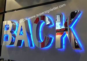 backlit led letters backlit led sign letters backlit led With custom letter signs
