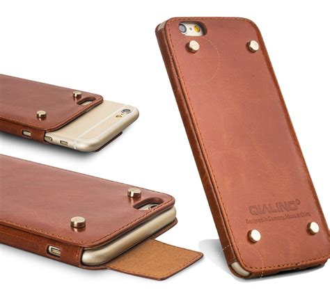 iphone 6 leather aliexpress buy qialino genuine leather phone
