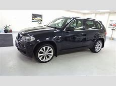 2008 BMW X5 30d M Sport In Carbon Black With Cream