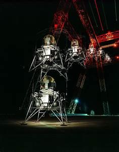 Lunar Lander Multiple Exposure   NASA