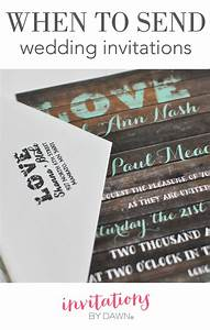 when to send wedding invitations invitations by dawn With when to send wedding reception invitations