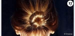Tuto Coiffure Cheveux Court : chignon avec cheveux courts ~ Melissatoandfro.com Idées de Décoration