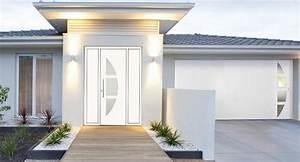 la porte d39entree contemporaine ou design soleal de With porte d entrée technal