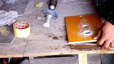 comment percer du carrelage avec une scie cloche percer de la fa 239 ence avec une scie tr 233 pan