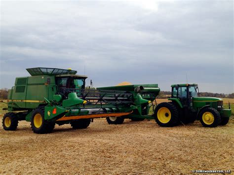 Shift Switch Harvesting Soybeans  Onmilwaukee