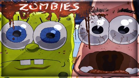 Spongebob Squarepants Zombies! (cod Waw Modded Custom
