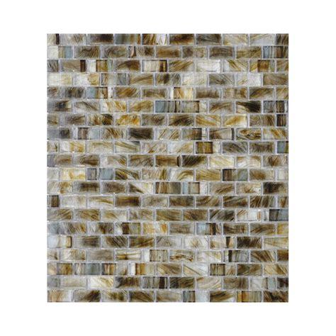 shop american olean visionaire gentle earth brick mosaic