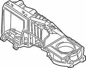 2008 Volkswagen R32 Case  Evaporator  Ac And Heater  Air