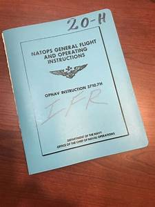 Natops General Flight And Operating Instructions 1975