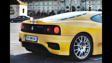 acceleration ferrari  cs challenge stradale sound