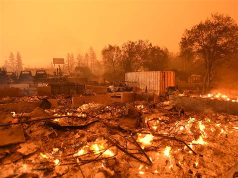 Firefighters have made progress against. Deadly fire leveled California town in less than a day ...