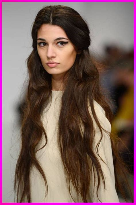 Amazing Long Length Layered Brown Hairstyles for Womens