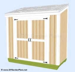 shedpa 4x4 storage shed plans