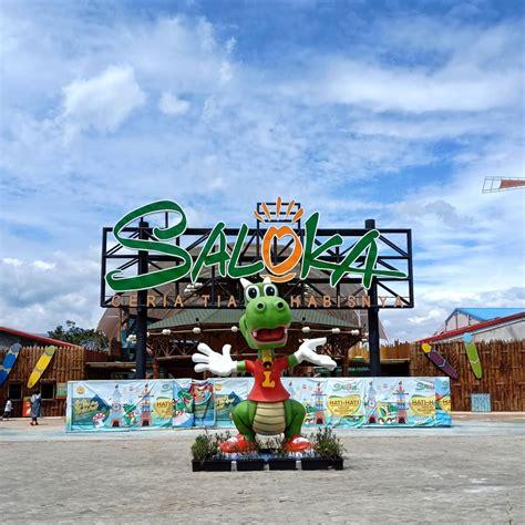 wahana seru saloka theme park semarang terbesar  jawa