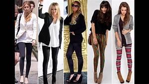 Tendencias de la moda Outfits para mujeres muy delgadas - YouTube
