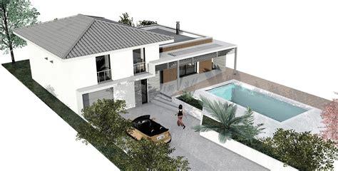 plan maison demi niveau 4 chambres plan maison demi niveau maison moderne