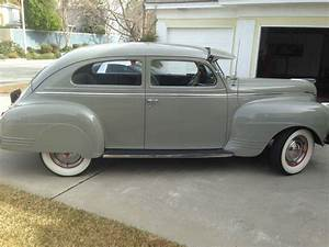 1941 Plymouth Special Delux Sedan Vintage Original
