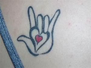 19 best images about I love you sign language tattoo on ...