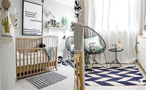 chambre esprit scandinave décoration chambre garçon scandinave