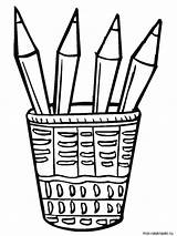 Pencil Coloring Pages Case Printable Pencils Colour Drawing Getcolorings Recommended Getdrawings Link sketch template