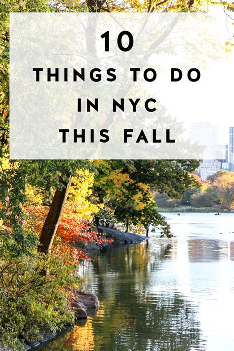 things to do in fall upcoming events things to do in nyc in fall york avenue