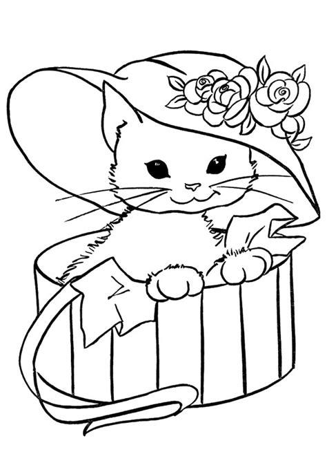disegni da colorare di gattini piccoli disegni di gatti da colorare e stare gratis gattina