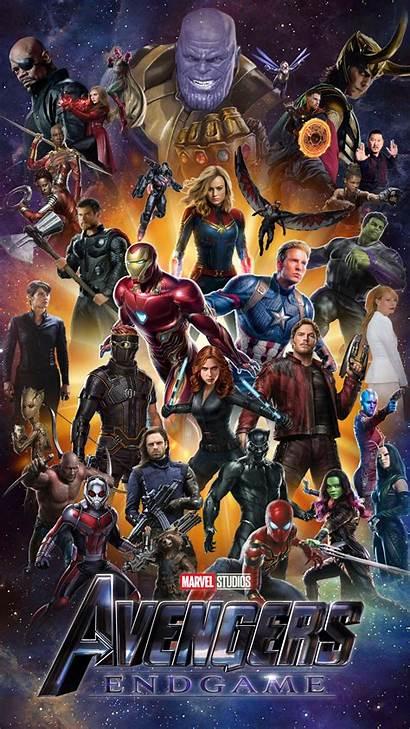 Avengers Endgame Iphone Wallpapers End Marvel Deviantart