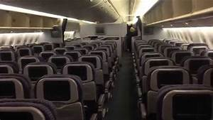 United airlines 777 aircraft (inside airplane) - YouTube