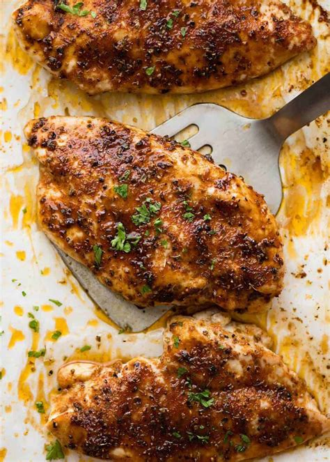 chicken oven breast baked recipes recipe juicy cooking recipetineats bake roasted cook brest grilled breats sugar brown