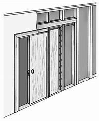 how to install a pocket door How to Install Pocket Doors - dummies