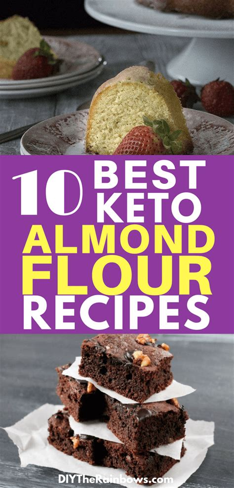flour almond recipes keto carb low healthy diet snacks carbs dessert making