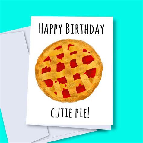 instant  happy birthday cutie pie cherry pie