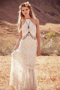 bohemian boho style hippy hippie chic gypsy fashion indie With hippie chic wedding dresses