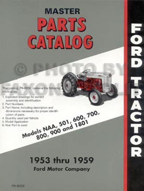ford  tractor  manual set reprint