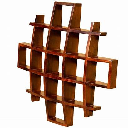 Shelves Shadow Display Boxes Hanging Wood Curio