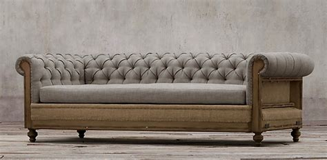 Designer Chesterfield Sofa Deconstructed Chesterfield Sofa