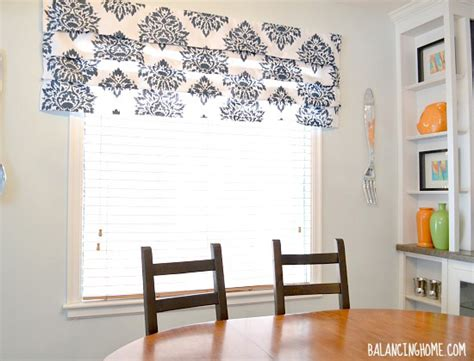 Learn How To Stencil No Sew Roman Shades Using The Nadya