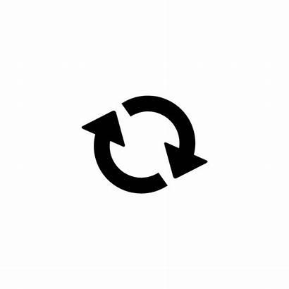 Reset Icon Refresh Restart Arrow Endless Clipart