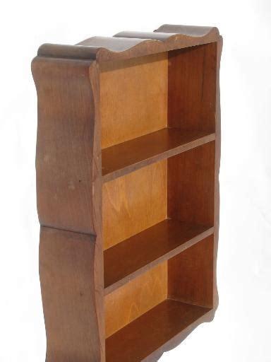 Hardwood Wall Shelves by Hardwood Wall Box Hanging Shelf Cottage Whatnot Shelves