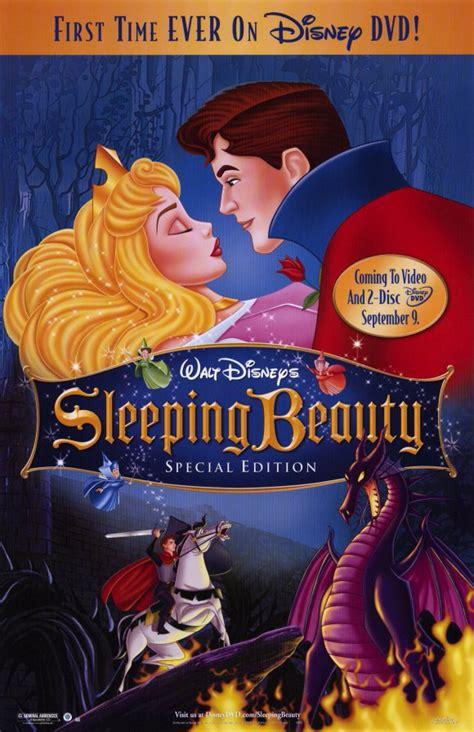 sleeping beauty dvd movie poster 1 sided original 27x40 ebay